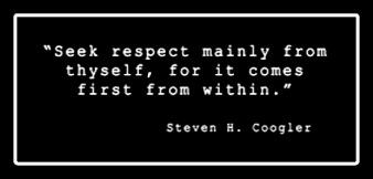 Steven H. Coogler Respect